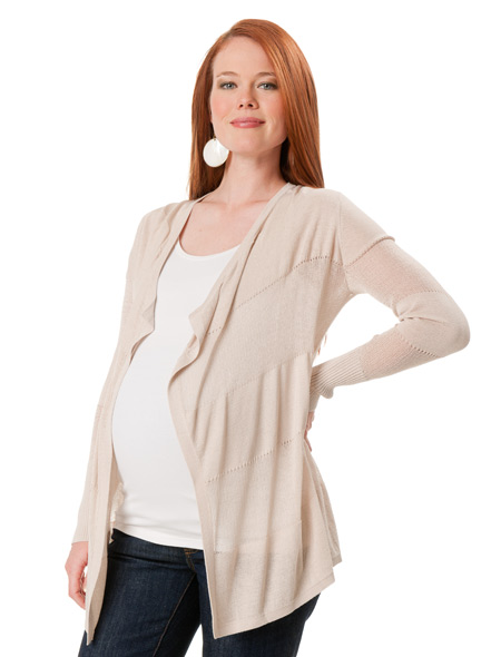 Before pregnancy, you may be able to wear one as a dress; as you go through your pregnancy, pair it with leggings or wear it over skinny jeans. After baby, you'll appreciate the extra room – plus, the added fabric can provide a discreet cover while nursing.