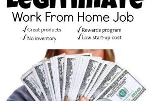 Legitimate Work at Home Jobs