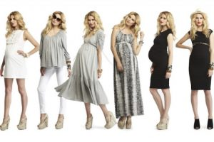 Funky Fall Maternity Dresses