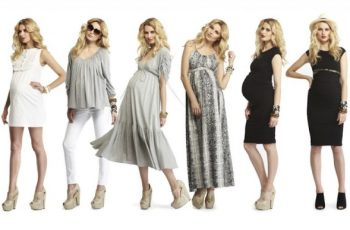 Funky Fall Maternity Dresses