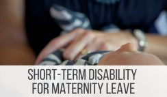 Short Term Disability Maternity Leave Pay