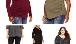 Stylish Plus Size Maternity Clothes