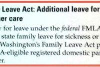 Washington State Maternity Leave Benefits